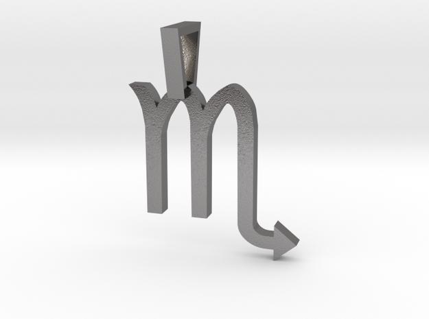 Scorpio in Polished Nickel Steel