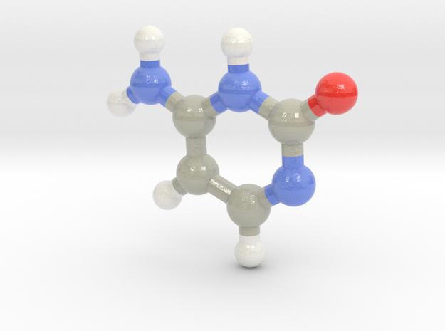 Cytosine (C)  in Glossy Full Color Sandstone