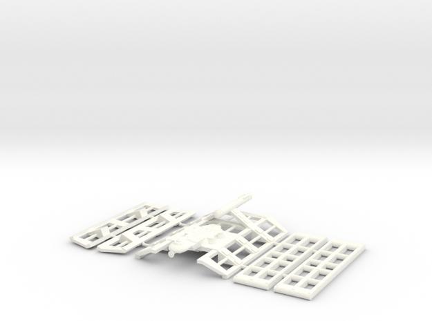 3125 Mk 1 St Lo in White Processed Versatile Plastic