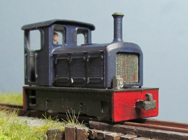 TTn3 Freelance Diesel Loco in Smooth Fine Detail Plastic