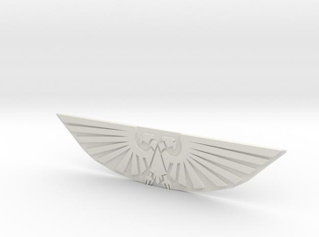 EAGLE2 in White Natural Versatile Plastic