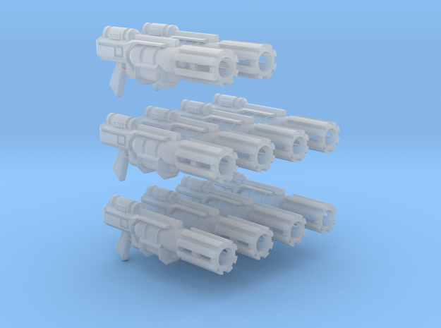 Tyros Pattern Melta Gun X10 in Frosted Ultra Detail