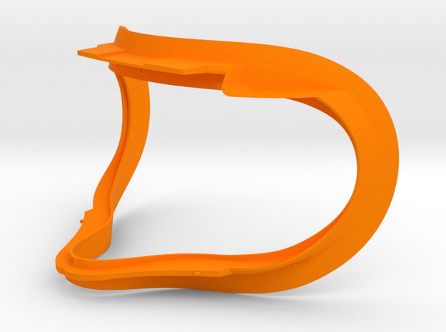 Oculus Rift CV1 Facial Interface Replacement VR in Orange Processed Versatile Plastic