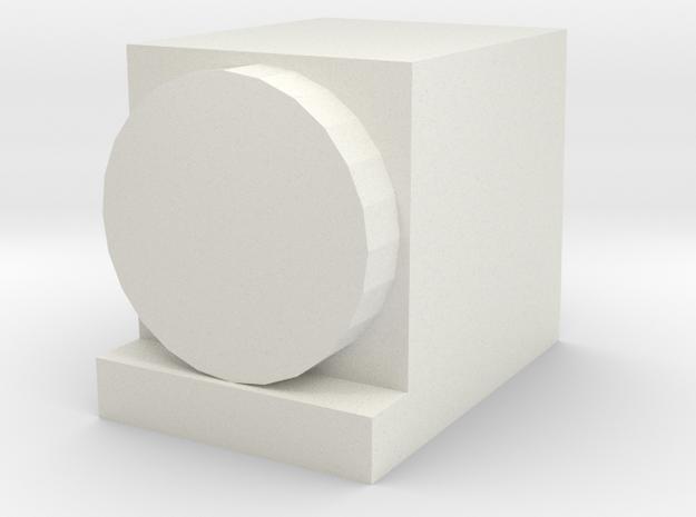 Headlamp for OO / HO Salty Dockside Diesel in White Natural Versatile Plastic