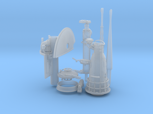 1/48 1/40 Conning tower set. (make sure you pick t in Smooth Fine Detail Plastic: 1:48 - O