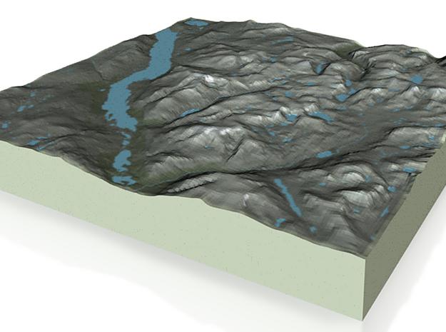 Terrafab generated model Fri Feb 14 2014 11:45:43 3d printed