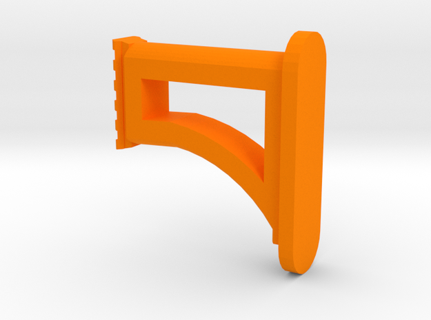 AR4 Shoulder Stock in Orange Processed Versatile Plastic