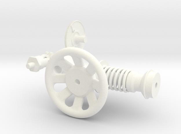 1.6 TREUIL ECUREUIL (B) in White Processed Versatile Plastic
