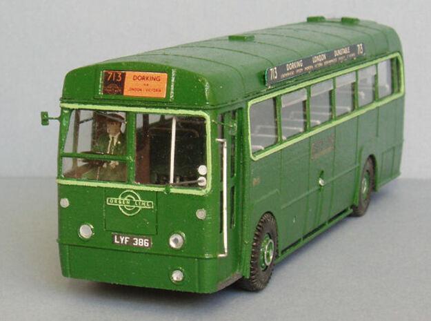 1:43 London Transport-RF Greenline_ Body in White Natural Versatile Plastic