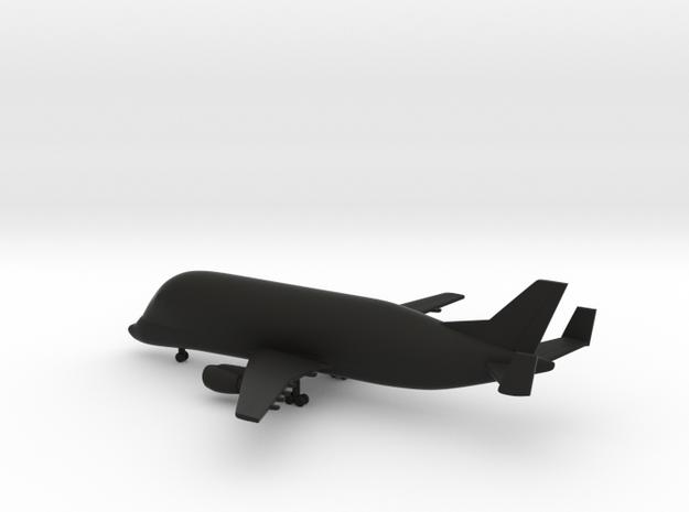 Airbus Beluga A300-600ST in Black Natural Versatile Plastic: 1:600