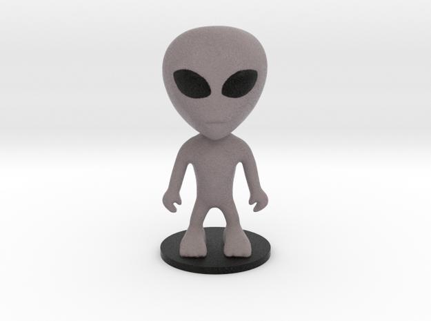 Little Alien in Full Color Sandstone