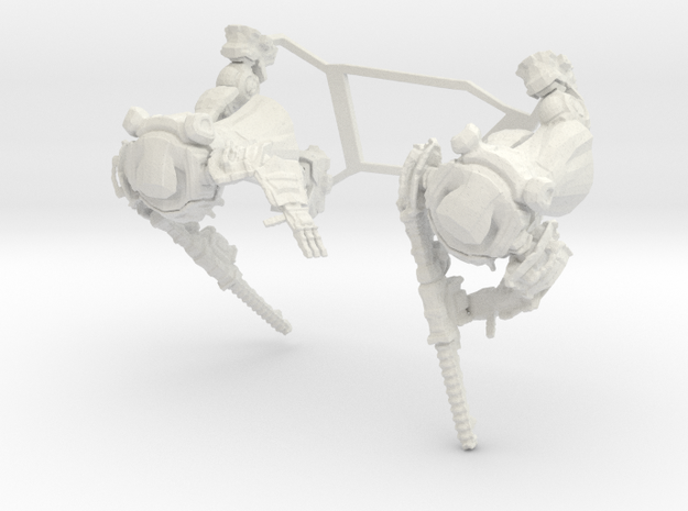 Imperial Armiger, 6mm  in White Strong & Flexible