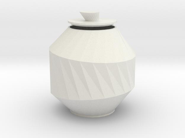 URN classic in White Natural Versatile Plastic