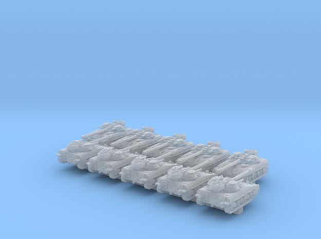 1/600 US T92 ACAV Light Tank x10 in Smooth Fine Detail Plastic
