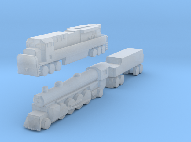 Modified 1:700 Scale Based Engines in Frosted Ultra Detail