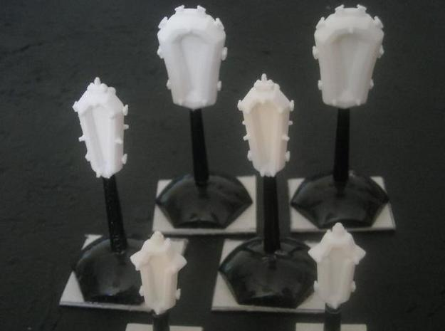 SP100A Stone Portal Battle Squadron Pack 3d printed Models (on stands) in SWF