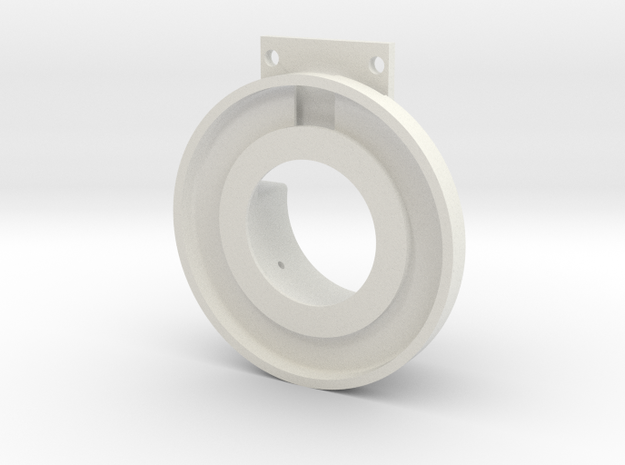 Rampage Encoder Mount Right Front in White Strong & Flexible