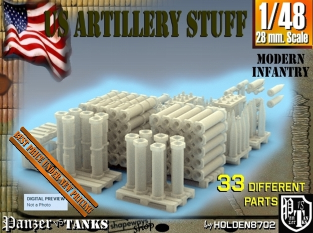 1-48 US Artillery Stuff
