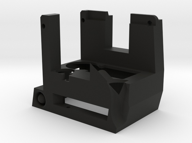 KC02 Adapter Housing in Black Natural Versatile Plastic