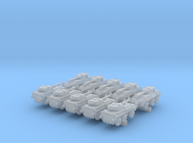 1/600 US LAV-300 Tank Destroyers x10 in Smooth Fine Detail Plastic