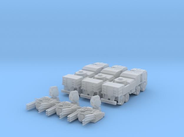 Pantsir S1 1:160 (set of 3) in Smooth Fine Detail Plastic