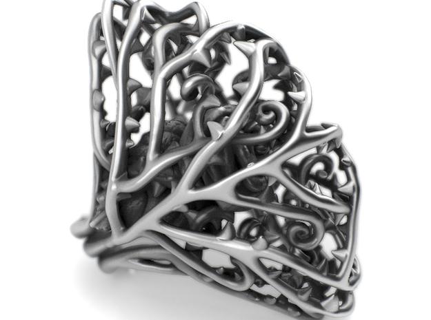 Ring Dangerous - Rose wrapped Precious Metal