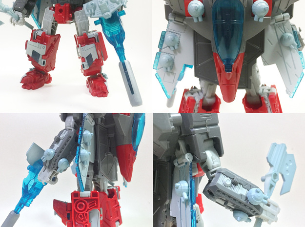 TR: Broadside/Tidelwave Extra Cannons in White Processed Versatile Plastic