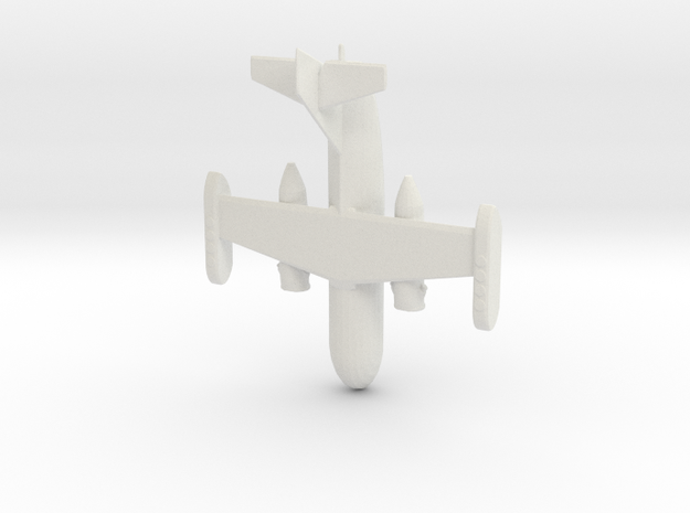 1:285 Dornier 31 in White Natural Versatile Plastic