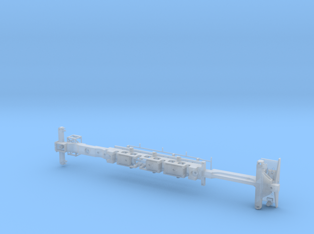 HO Scale Reading T1 Frame Assembly in Smooth Fine Detail Plastic
