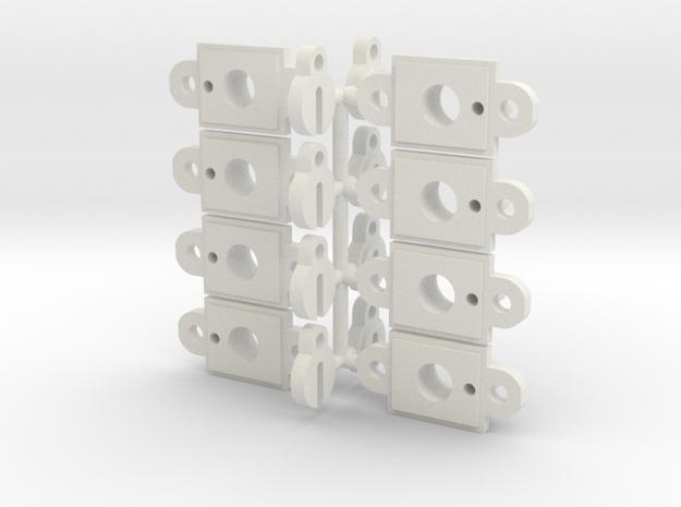 Traxxas TRX-4 Rock Light Pod Kit in White Strong & Flexible