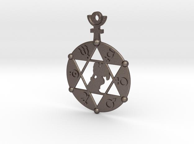 The Angel Of Saturn SMK (steel pendant)