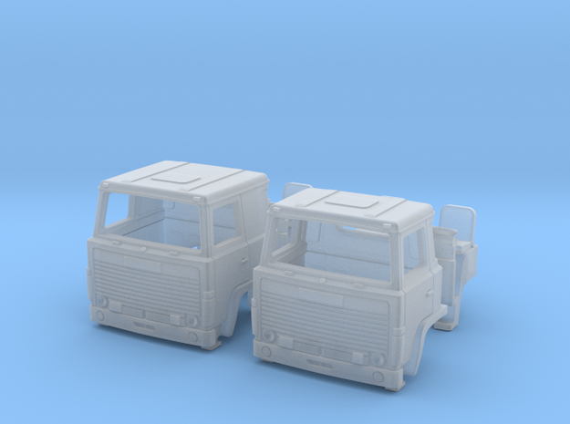 2 Replacement Cabs For Scania 140 TT scale in Frosted Ultra Detail