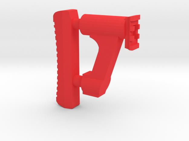 GMU Shoulder Stock (Short Version) in Red Processed Versatile Plastic