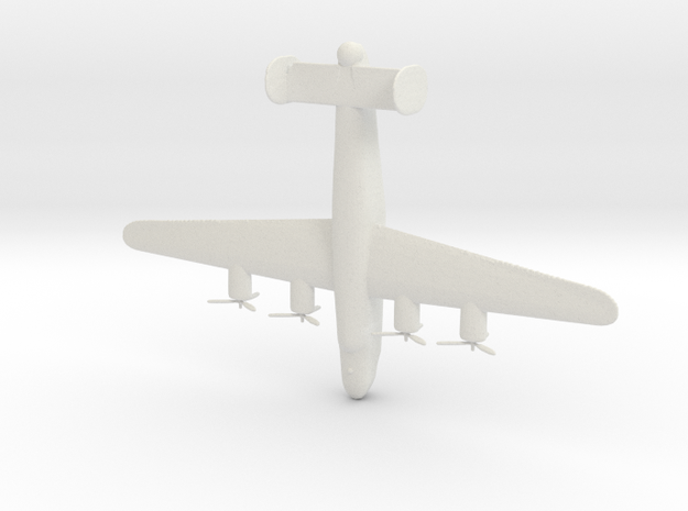1:285 B-24 Liberator  in White Strong & Flexible