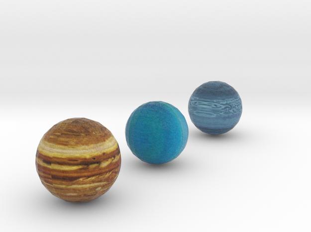 Detailed Jupiter Neptune and Uranus set