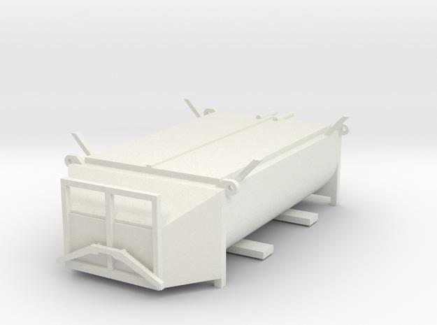 Z 001 Asphaltmulde  für 7,5 t LKW in White Natural Versatile Plastic: 1:87 - HO
