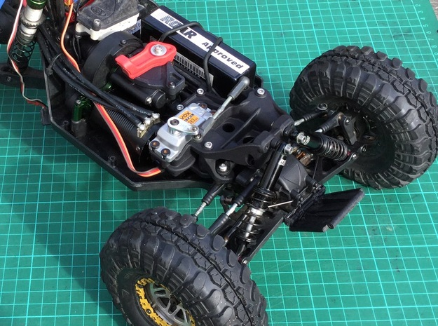 Twin Hammers Steering and Upright Shock Upgrade