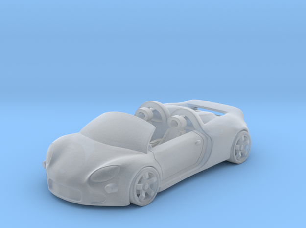 Porsche Carrera GT    1:120    TT in Smooth Fine Detail Plastic