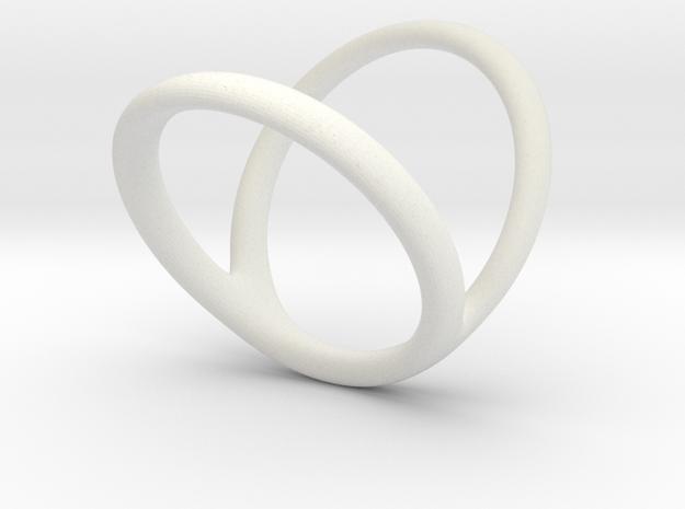 Ring Splint for j_vanmierlo in White Natural Versatile Plastic