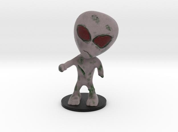 Little Alien Zombie in Full Color Sandstone