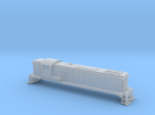 Z Scale DRS 4-4-1500  in Frosted Extreme Detail