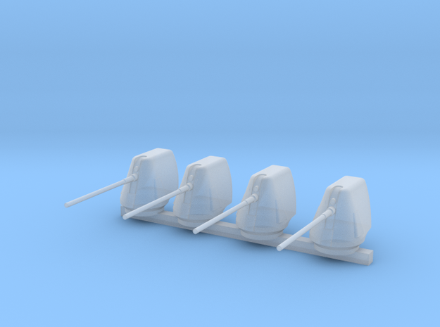 1/300 Scale 5 In 54 Cal Mk 45 Naval Gun Set Of 4