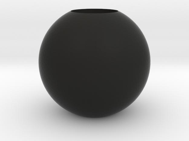 Acoustic Sphere (12.8mm mic) (32mm diameter) in Black Natural Versatile Plastic