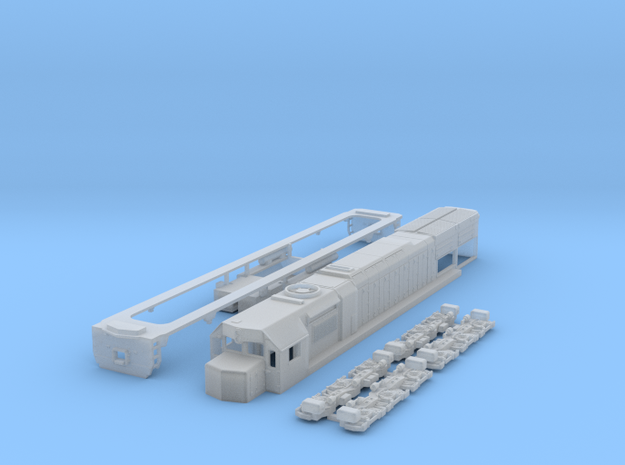 N scale GT26cw-2 in Smooth Fine Detail Plastic