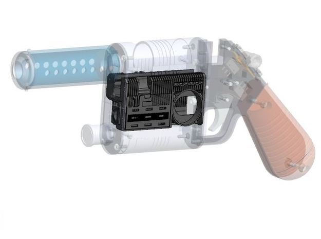 NerfworXlab Rey's blaster - Pistol Chassis V2