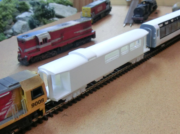 NZ120 AKV - Viewing Car in Smooth Fine Detail Plastic