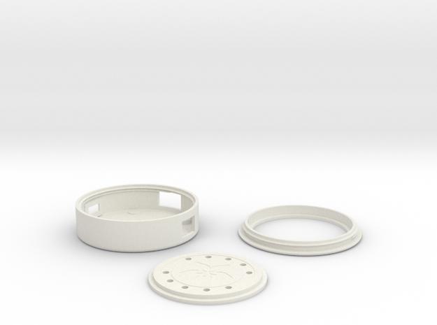Circuit Playground Case for Adafruit Unicorn Hat in White Natural Versatile Plastic