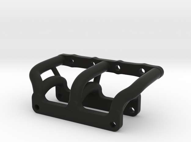 081008-02 KingCab Front Bumper Mount,Custom Bumper in Black Natural Versatile Plastic