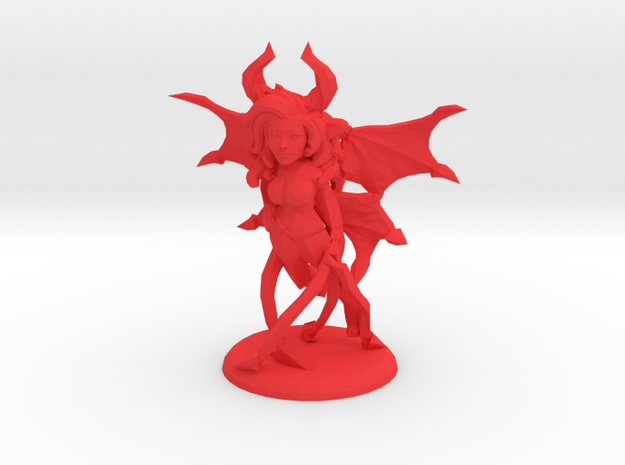 FYRONA THE SUCCUBUS in Red Strong & Flexible Polished