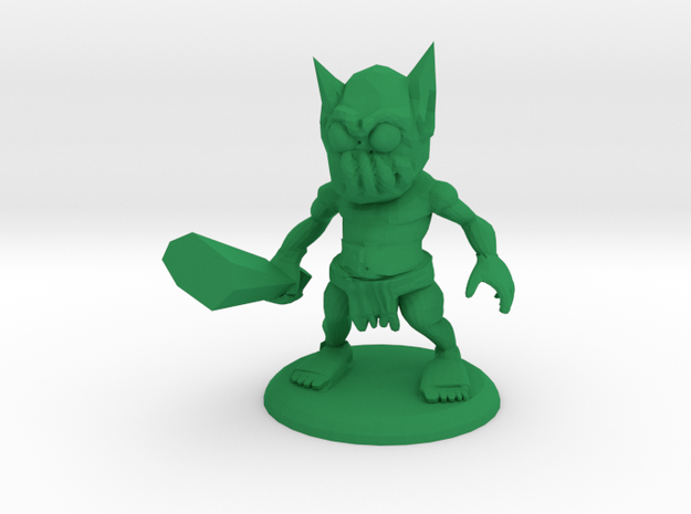 ARNOLD THE ORC in Green Processed Versatile Plastic